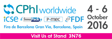CPhlworldwide Fira de Barcelona Gran Via, Barcelona, Spain 4-6 october 2016